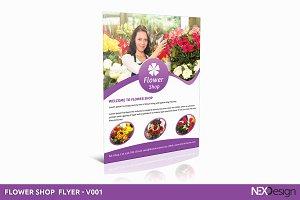 Flower Shop Flyer - SB #006