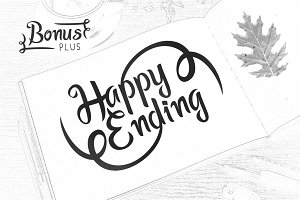 Happy Ending - Suitable For Logo