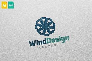Wind Design Logo