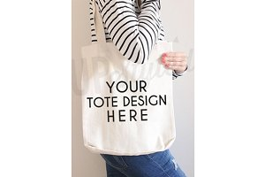 F169 Tote Bag Mock up