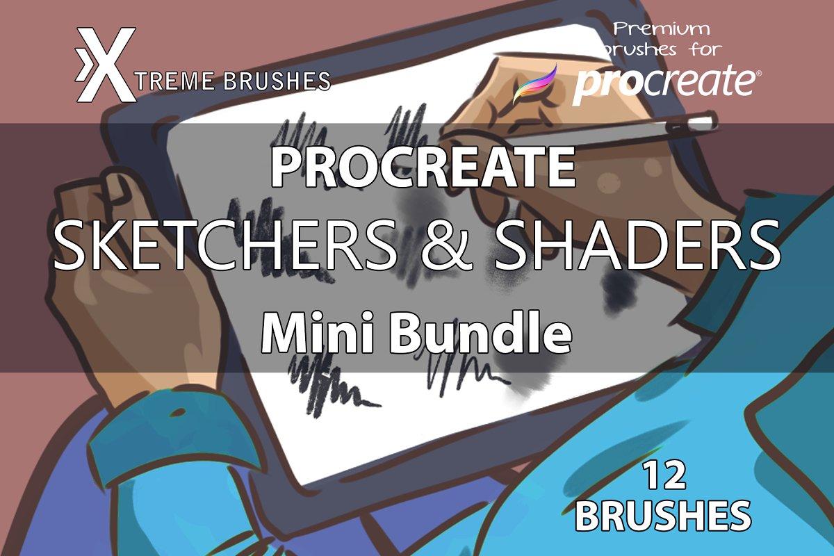 Procreate Sketchers & Shaders!