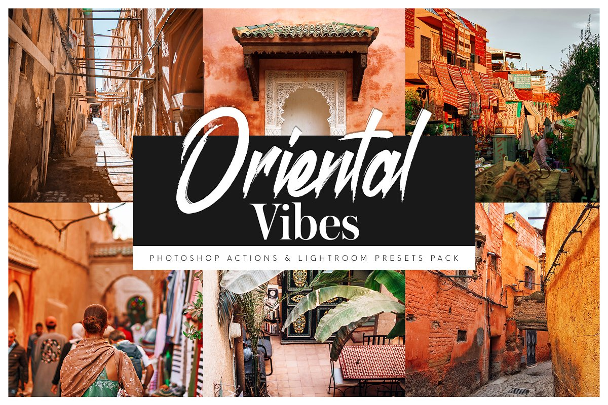 Oriental Vibes Presets & Action Pack