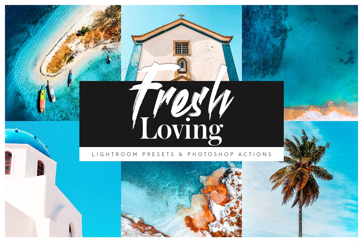 Fresh Loving Actions & Presets Pack