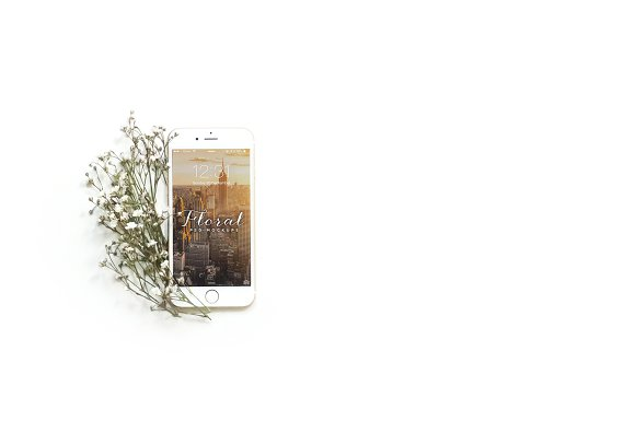 Download Floral iPhone 6 Mockup - III