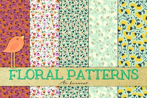 ✿ Floral ✿ Patterns ✿ seamless ✿