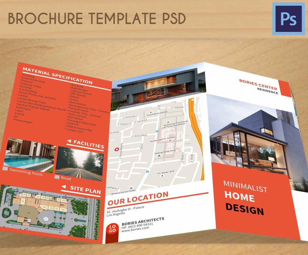 Brochure Template PSD Brochure Templates Creative Market - Hp brochure templates