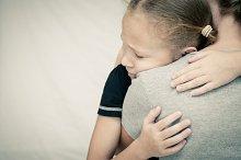 sad daughter