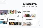 Minecato - Google Slide Template