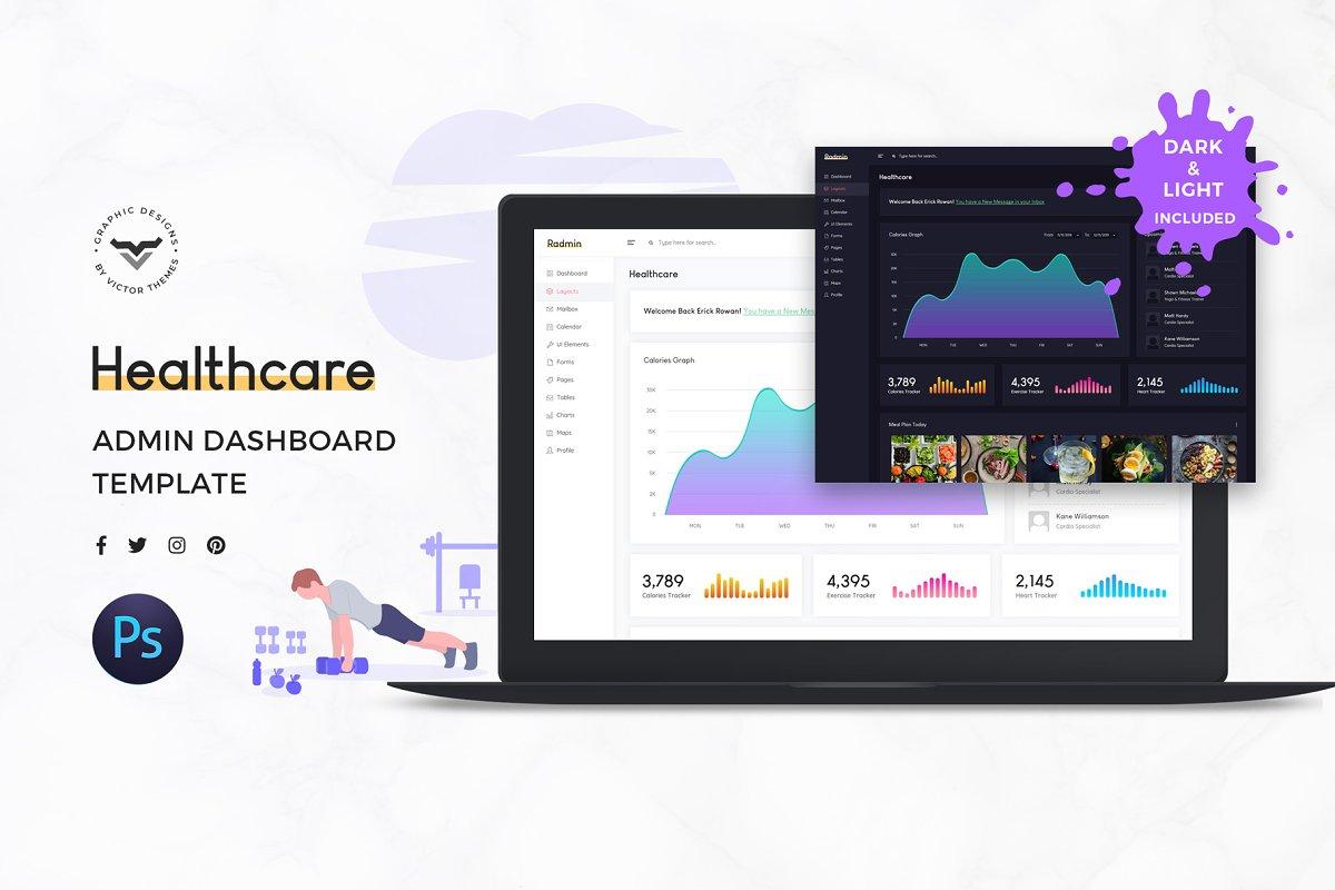 Healthcare Admin Dashboard UI Kit