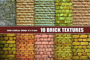 Old  Grunge Brick Wall Texture