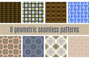 8 Geometric Backgrounds