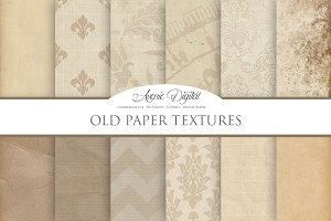 Old Digital Paper Textures