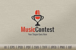 Music Contest Logo