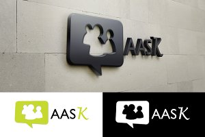 AASK - Chatting Logo Template