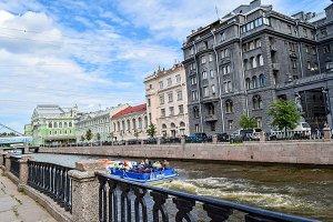 City landscape - Kryukov Canal