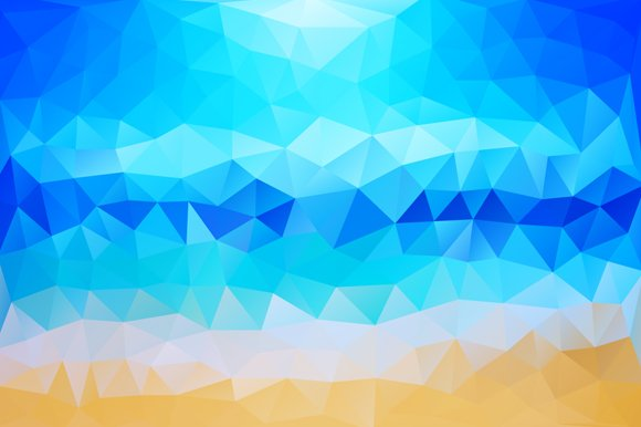 Summer Beach Abstract Background ~ Illustrations ...