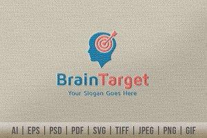 Brain Target Logo