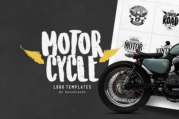 Motorcycle Logo Templates Logo Templates Creative Market
