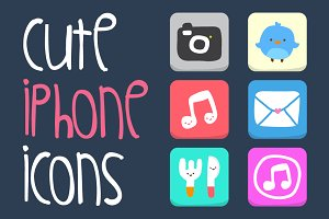 Cute iPhone Icons