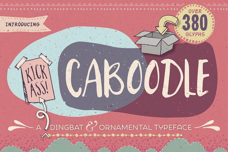 Caboodle dingbat typeface ~ Symbol Fonts ~ Creative Market