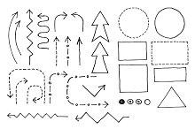Doodle Flowchart Set