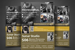 Photography Studio Flyer Templates