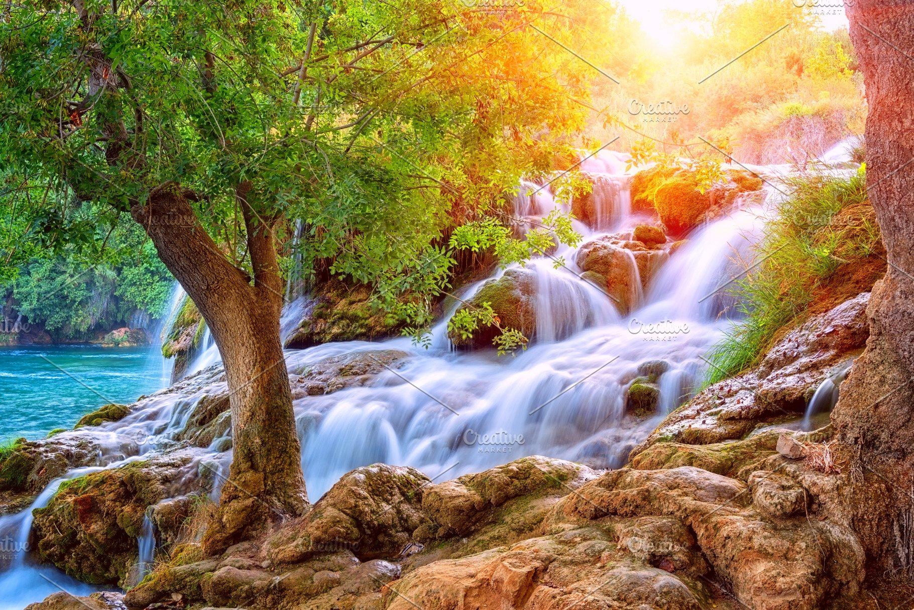 Amazing nature landscape