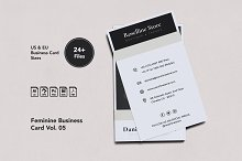 Feminine Business Card Vol. 05 by  in Business Cards