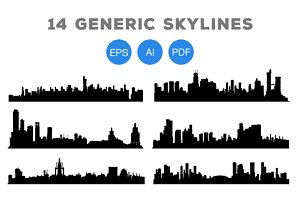 14 Generic City Skylines