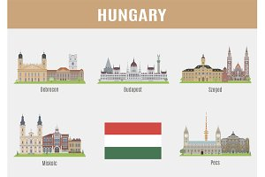 Cities in Hungary