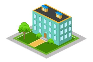 Isometric Big House