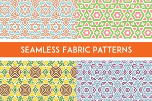 Fabric Seamless Pattern Set 1