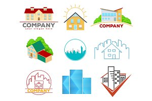 Real Estate Emblems and Logos