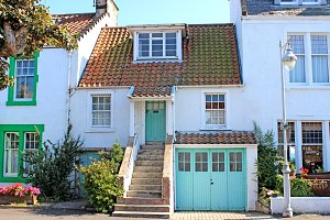 Terraced Cottage Scotland