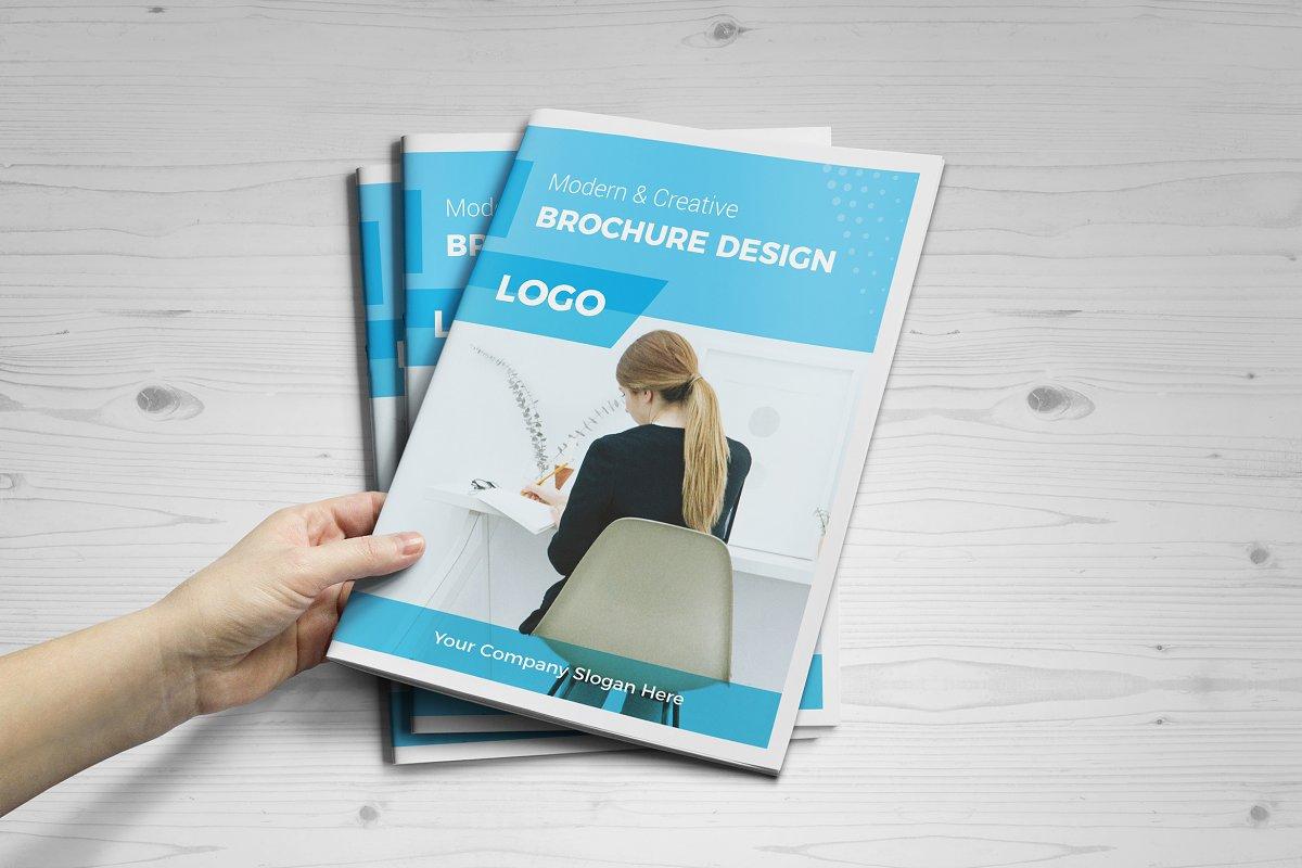 Modern 16 pages Brochure Design