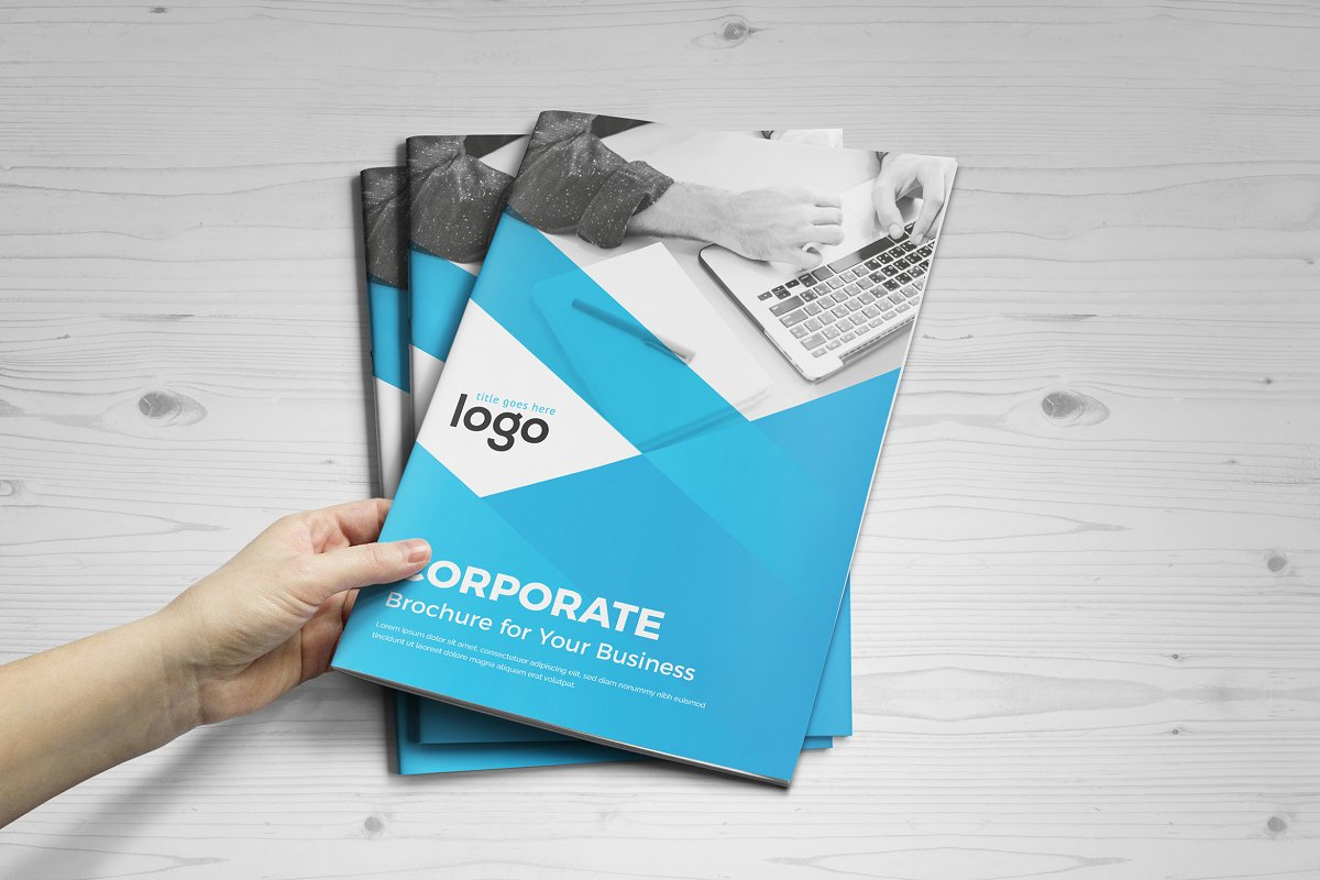 Corporate Brochure Design 16 Pages
