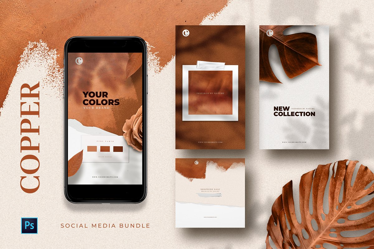 Copper - Social Media Templates