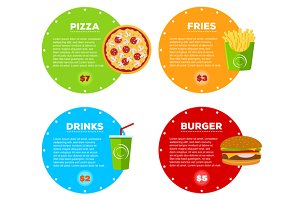 Fast Food Cafe Menu