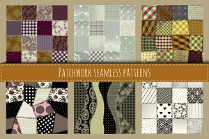 Retro Patchwork patterns.