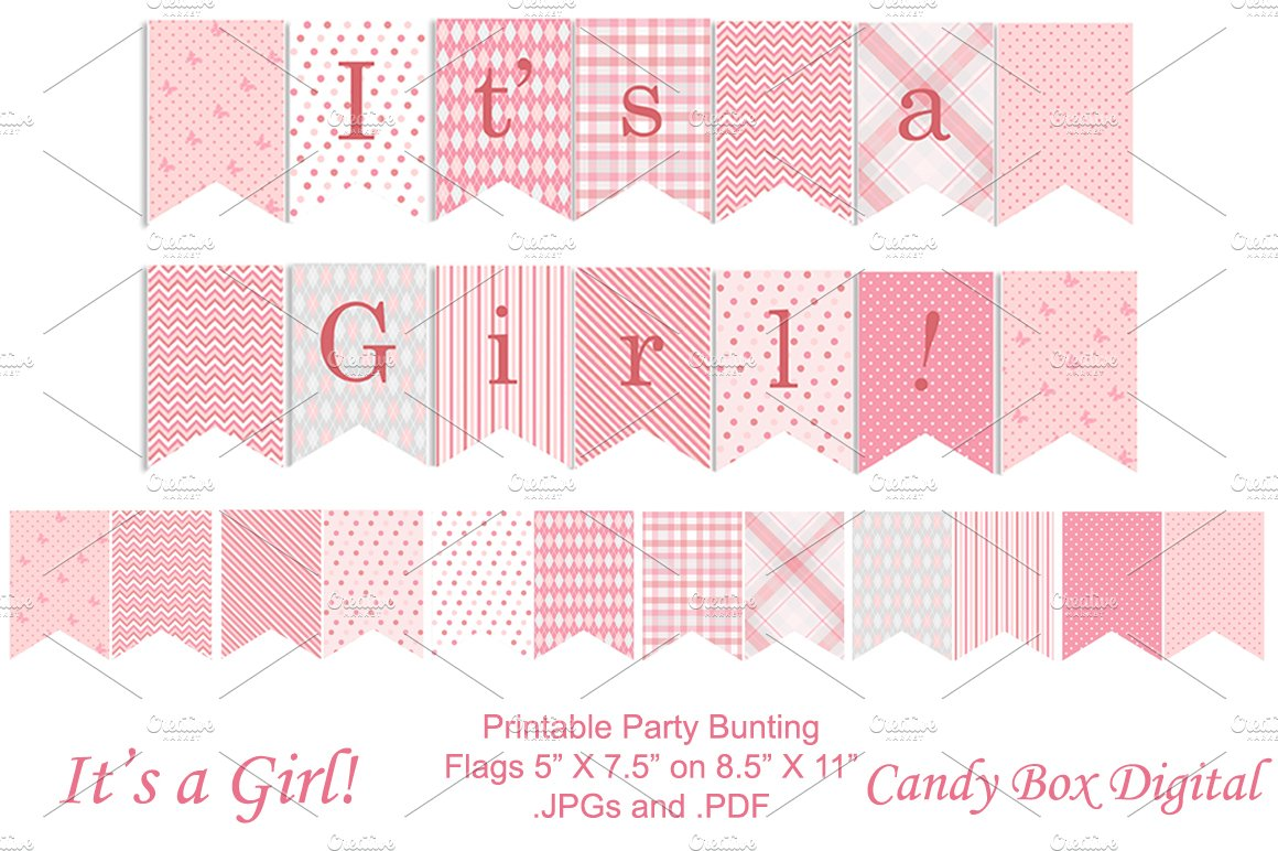 Free Printable Baby Boy Shower Banner Letters