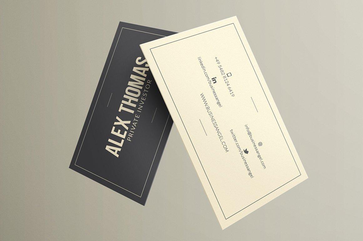 Executive business card business card templates creative market colourmoves