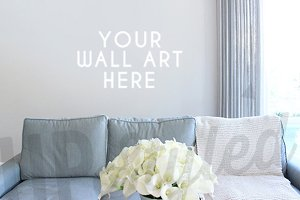 F143 Living Room Wall Art Mock Up