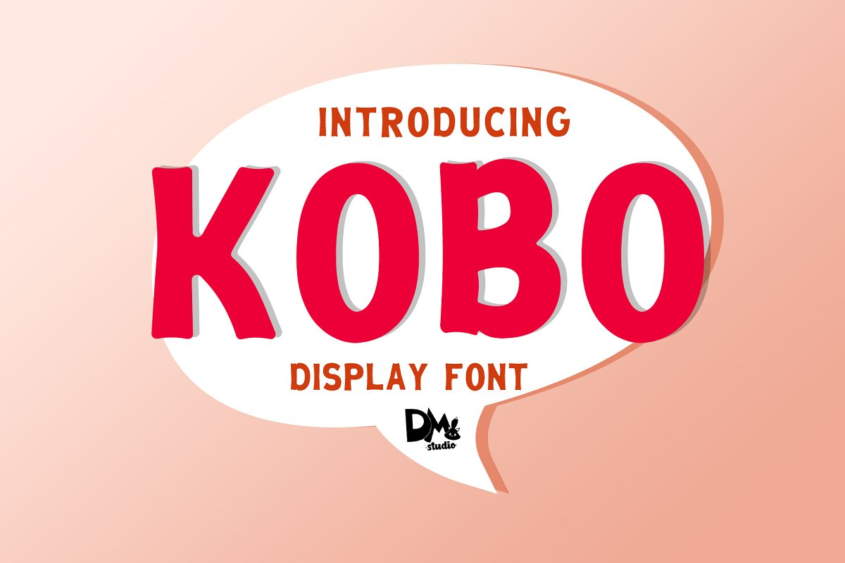 KOBO - FUN DISPLAY FONT