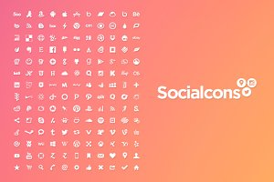 Vector Social Media Icons - Isolated