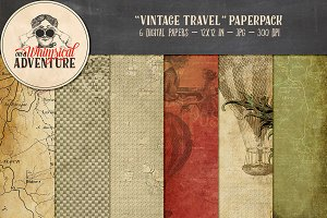 Vintage Travel Papers