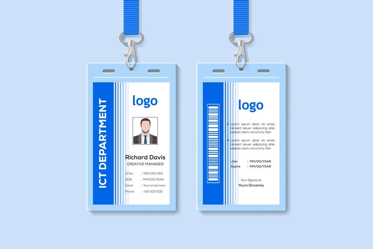 ID Card Templates Design