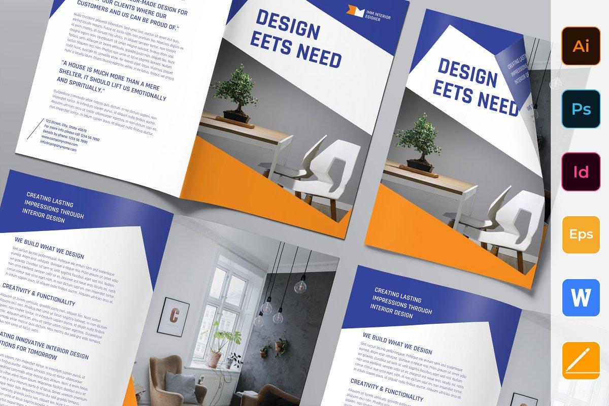 Interior Designer Brochure Bifold