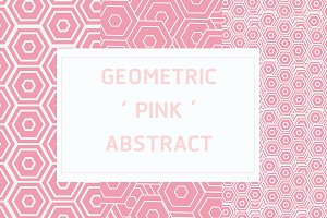 Geometric Pink Abstract Pack