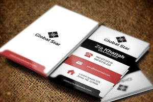 Super Power Business Card