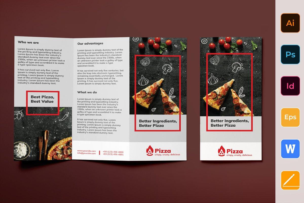 Pizza Brochure Trifold